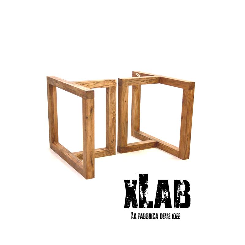 Gambe In Legno Massello Per Tavolo Da Soggiorno Xlab