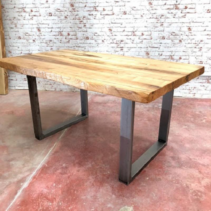Tavolo Da Cucina Design In Legno Massello Rustico