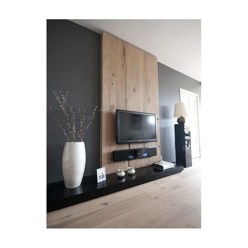Parete Soggiorno Porta Tv Alto Design Acquista Mobile Porta Tv Nero E Legno Massello